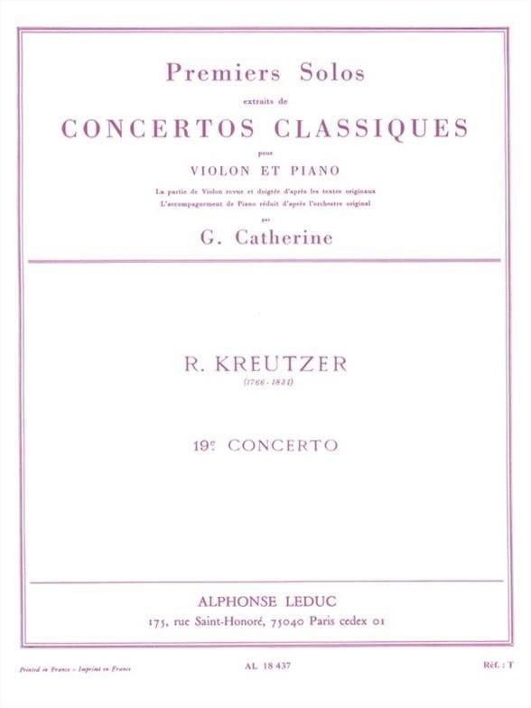 1er Solo du Concerto n° 19 Catherine - laflutedepan.com