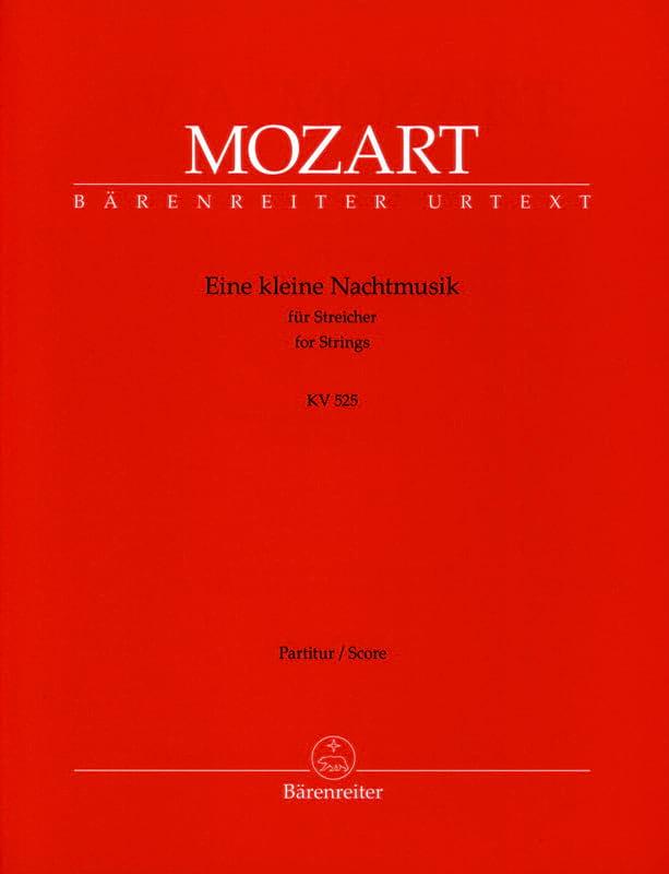 Eine kleine Nachtmusik G-Dur KV 525 - Partitur - laflutedepan.com