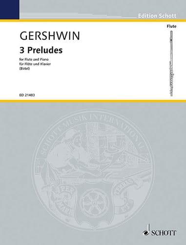 3 Préludes - GERSHWIN - Partition - laflutedepan.com