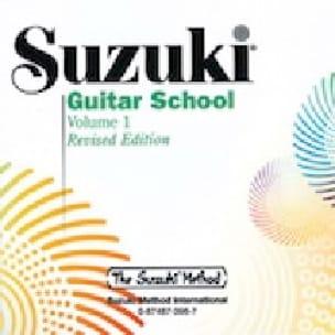 Suzuki Guitar School Volume 1 Revised - CD - SUZUKI - laflutedepan.com