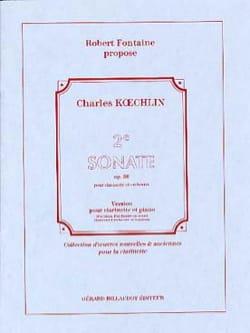 2e Sonate, Opus 86 Charles Koechlin Partition laflutedepan