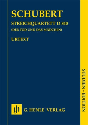 Quatuor à cordes en ré mineur n° 14 D 810 La jeune fille et la mort laflutedepan