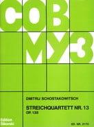 Streichquartett Nr. 13 op. 138 - Stimmen - laflutedepan.com