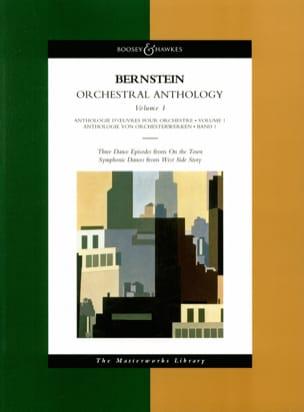 Orchestral Anthology - Volume 1 BERNSTEIN Partition laflutedepan