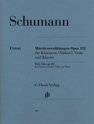 Märchenerzählungen Op. 132 SCHUMANN Partition Trios - laflutedepan
