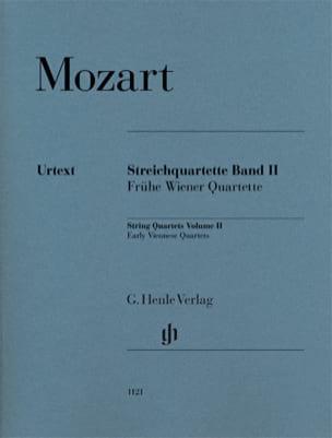 Quatuors à Cordes - Volume 2 MOZART Partition Quatuors - laflutedepan