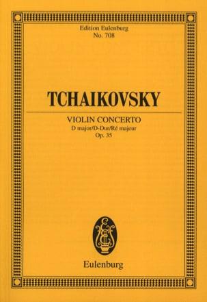 Concerto pour Violon en Ré Maj. Op.35 TCHAIKOVSKY laflutedepan
