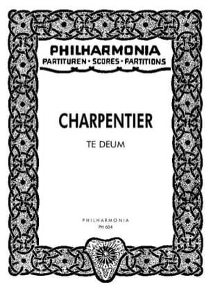 Te Deum - Partitur - CHARPENTIER - Partition - laflutedepan.com