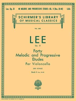 40 Melodic and progressive etudes op. 31 - Volume 2 laflutedepan