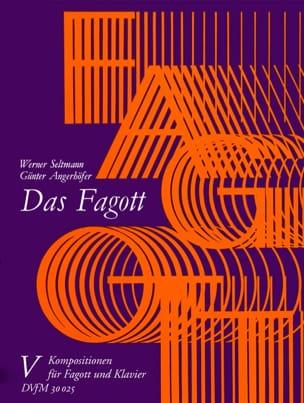 Das Fagott - Bd. 5 : Fagott Klavier laflutedepan