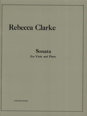 Sonata Rebecca Clarke Partition Alto - laflutedepan