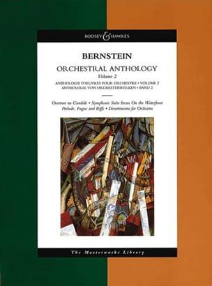Orchestral Anthology - Volume 2 BERNSTEIN Partition laflutedepan