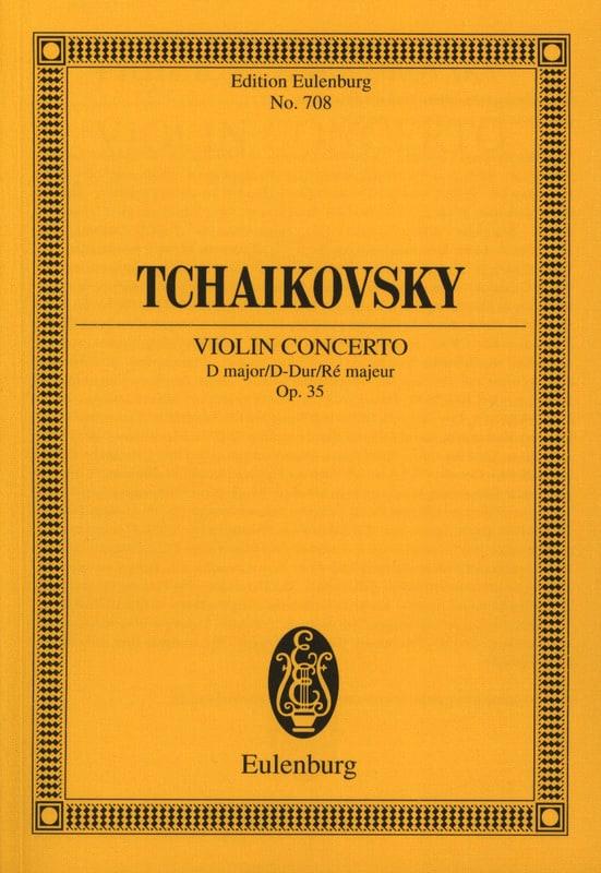 Concerto pour Violon en Ré Maj. Op.35 - TCHAIKOVSKY - laflutedepan.com