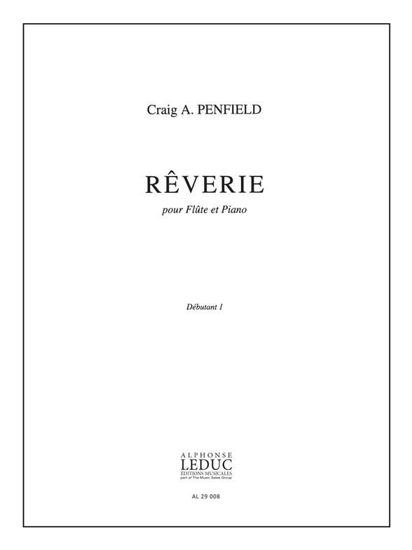 Rêverie - Craig A. Penfield - Partition - laflutedepan.com