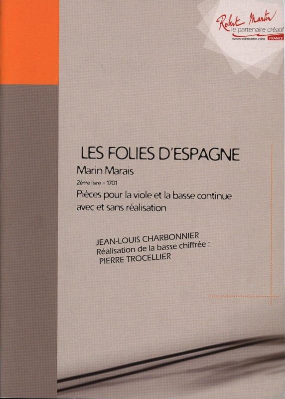 Les Folies D' Espagne - 2ème Livre 1701 - laflutedepan.com