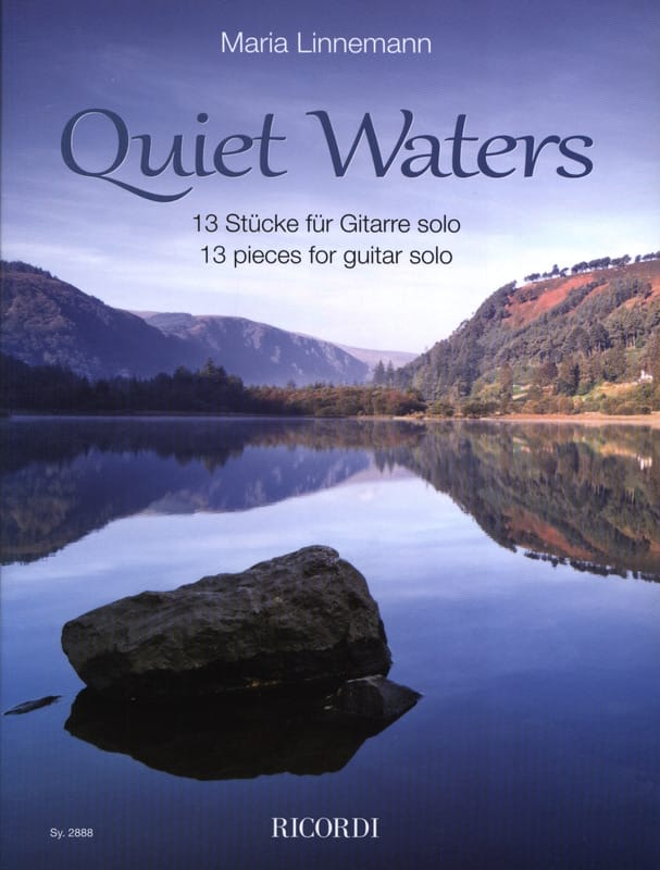 Quiet Waters - Maria Linnemann - Partition - laflutedepan.com