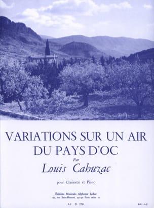 Variations sur un air du Pays d'Oc Louis Cahuzac laflutedepan