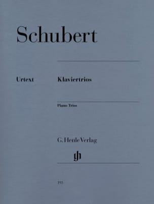 Trios avec piano SCHUBERT Partition Trios - laflutedepan