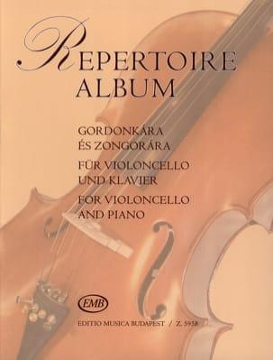 Repertoire Album Antal Friss Partition Violoncelle - laflutedepan