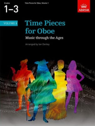 Time Pieces For Oboe Volume 1 Ian Denley Partition laflutedepan