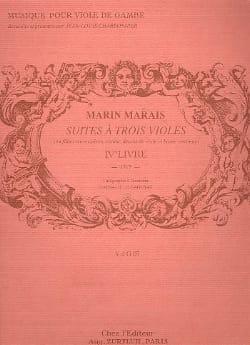 Suite à trois violes Marin Marais Partition laflutedepan