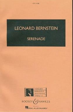 Serenade - Conducteur BERNSTEIN Partition Grand format - laflutedepan