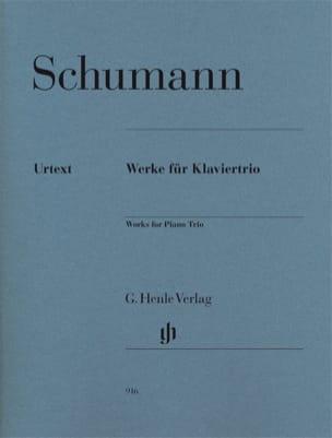 Oeuvres pour Trio avec Piano SCHUMANN Partition Trios - laflutedepan