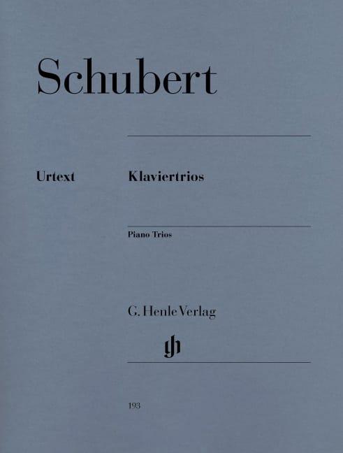 Trios avec piano - SCHUBERT - Partition - Trios - laflutedepan.com