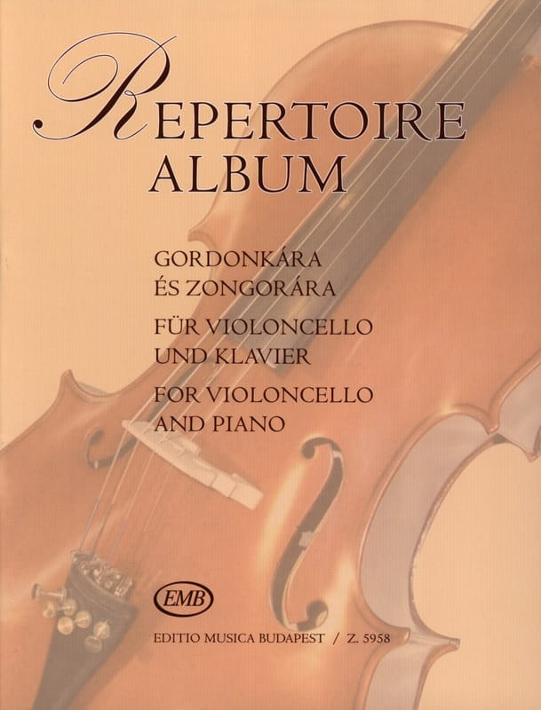 Repertoire Album - Antal Friss - Partition - laflutedepan.com