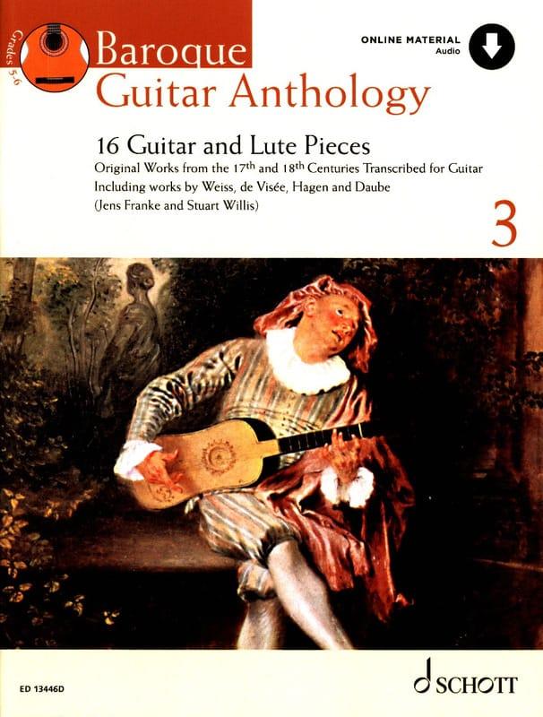 Baroque Guitar Anthology volume 3 - Auteurs Divers - laflutedepan.com