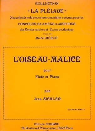 L'oiseau-malice Jean Sichler Partition laflutedepan