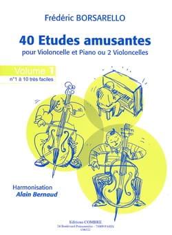 40 Etudes Amusantes Volume 1 Frédéric Borsarello laflutedepan