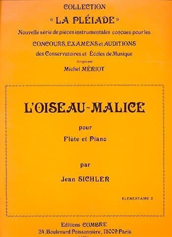 L'oiseau-malice - Jean Sichler - Partition - laflutedepan.com