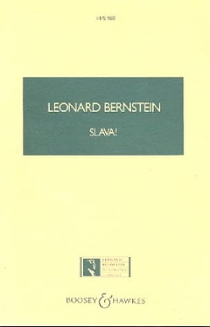 Slava ! - BERNSTEIN - Partition - Grand format - laflutedepan.com