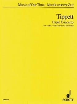 Triple Concerto - Partitur Michael Tippett Partition laflutedepan