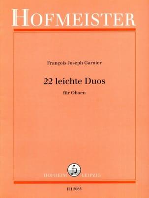 22 Leichte Duos - Oboen Joseph-François Garnier Partition laflutedepan