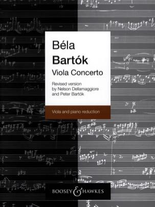 Viola Concerto op. posth rev. vers. Dellamaggiore BARTOK laflutedepan