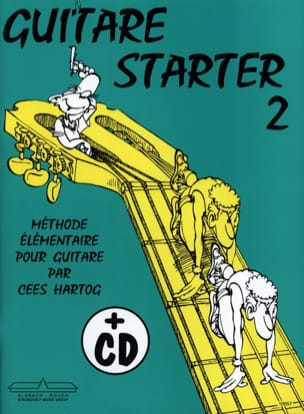 Guitar starter - Volume 2 Cees Hartog Partition laflutedepan