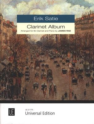 Clarinet Album - SATIE - Partition - Clarinette - laflutedepan.com