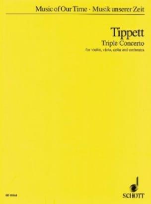 Triple Concerto - Partitur - Michael Tippett - laflutedepan.com