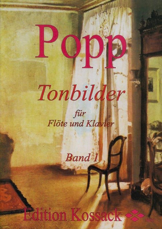 Tonbilder - Volume 1 - Wilhelm Popp - Partition - laflutedepan.com