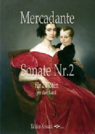 Sonate n° 2 - 2 Flûtes - Saverio Mercadante - laflutedepan.com