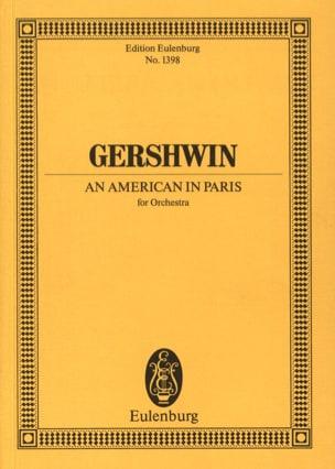 An American In Paris - Conducteur GERSHWIN Partition laflutedepan