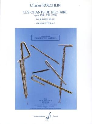 Les Chants de Nectaire Op.198 - 199 - 200 - laflutedepan.com