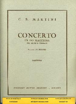 Concerto in do maggiore - Partitura laflutedepan