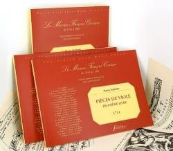 Pieces de viole - 3ème Livre Marin Marais Partition laflutedepan