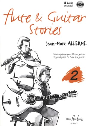 Flûte And Guitar Stories Vol.2 Jean-Marc Allerme laflutedepan