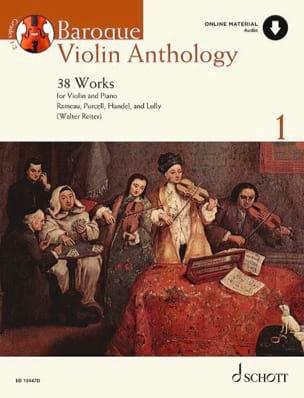 Baroque Violon Anthology Volume 1 - Partition Violon - laflutedepan