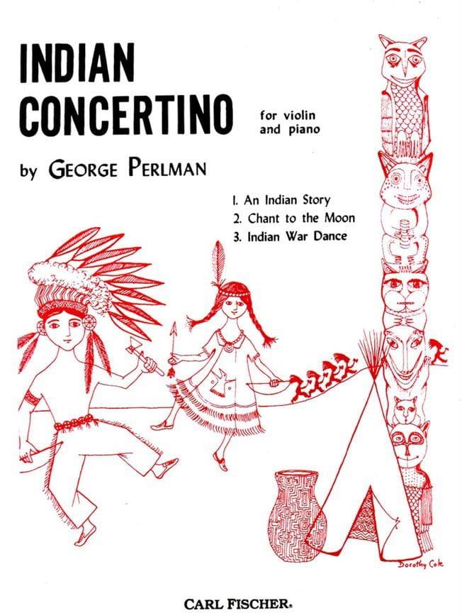 Indian Concertino - George Perlman - Partition - laflutedepan.com