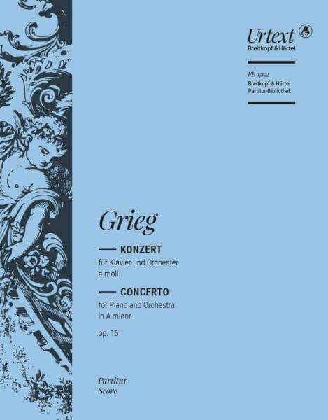 Concerto op. 16 - GRIEG - Partition - Grand format - laflutedepan.com